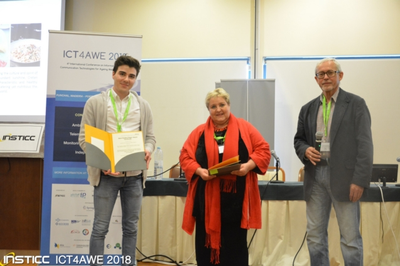 9a4b026404dd The intelligent mobile platform and eMedia research group were awarded the  best student paper award at the 4th International Conference on Information  and ...
